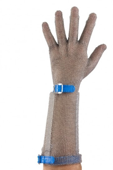 Chainextra - Stainless Steel Long Cuff Glove - 21cm