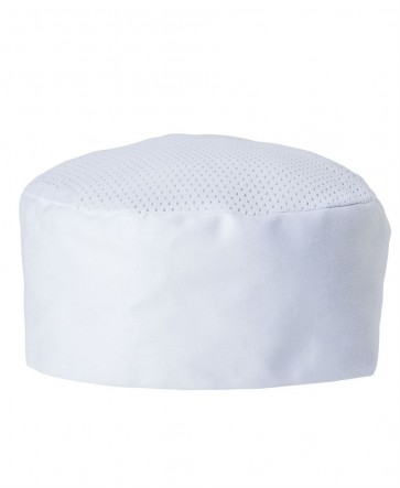Chefs Vented Cap - White