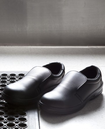 Microfibre Shoe - Steel Cap