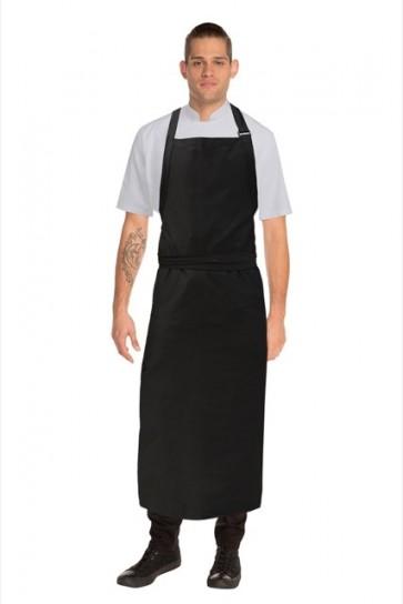 Chef Works Large Bib Apron -Black