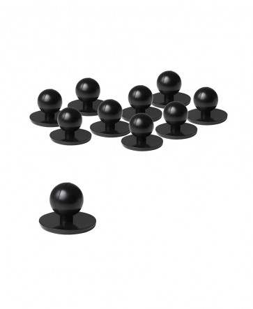 Chef Jacket Buttons Black