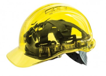 Clearview Non Vented Hard Hats Terylene Harness Type 2