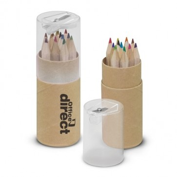 Coloured Pencil Tube - BRANDED