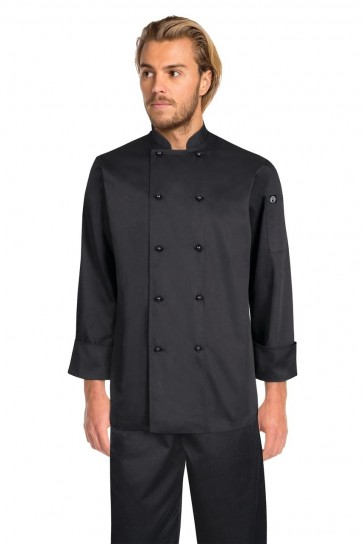 Chef Works Darling Black Chef Jacket