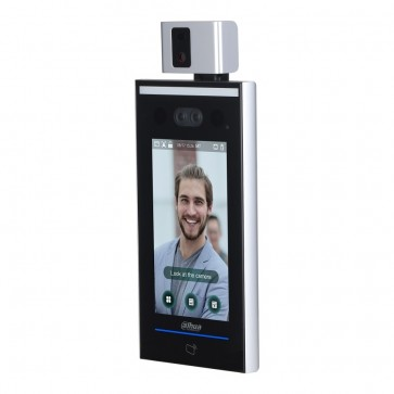Dahua Temperature Screening Kiosk With Wall Mount