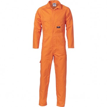 DNC Cotton Drill Coverall - Orange