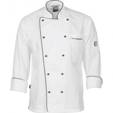 DNC Classic Chef Jacket Unisex- Long Sleeve 200gsm