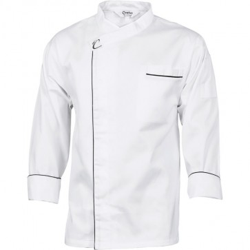 DNC Chefs Unisex Cool Breeze Modern Jacket - Long Sleeve 190gsm