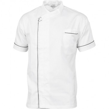 DNC Chefs Unisex Cool Breeze Modern Jacket - Short Sleeve 190gsm