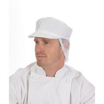 DNC Food Prep Cap with Net Back