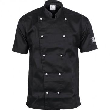 DNC Chefs Three Way Air Flow Jacket Unisex - Short Sleeve 200gsm