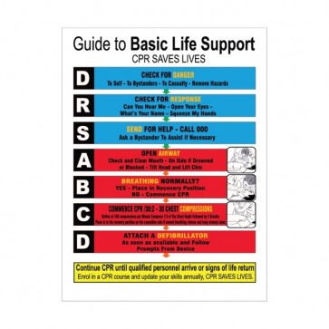 Guide To Basic Life Support Sign