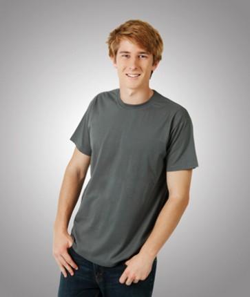 Blue Whale Mens Eurostyle Soft-Feel Modern Fit T-Shirt - Model