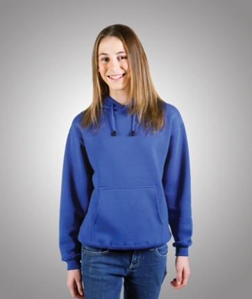 Blue Whale Kids Traditional Fleecy Hoodie - Model