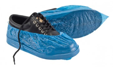 Shoe Covers Non Skid Blue