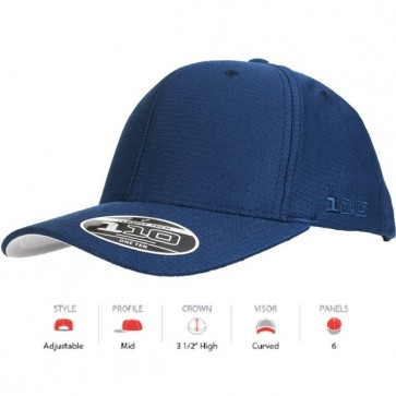 Flexfit Cool & Dry - Navy Cap Key