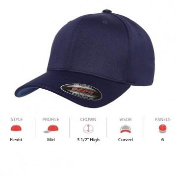Flexfit Cool & Dry Sports - Navy Cap Key