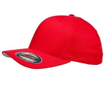 Flexfit Perma Curve Cap Youth - Red
