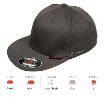 Flexfit Pro Baseball - Dark Grey Cap Key