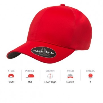 Flexfit 180 Delta - Red Cap Key