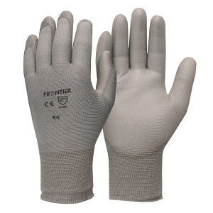 Frontier Saturn PU Coated Glove - GREY