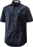 FXD Short Sleeve Shirt - Navy Front