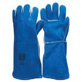 Gauntlet - Blue Welders Glove