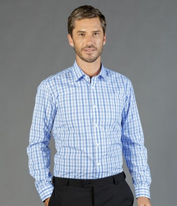 Gloweave Foxton Tonal Check Long Sleeve Shirt