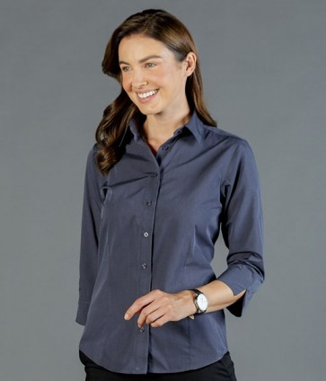 Gloweave Smith End On End Shirt - Slate Model