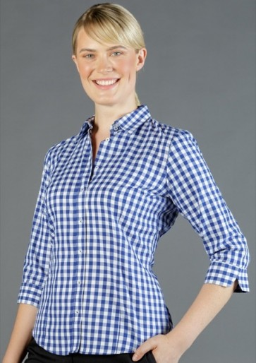 Gloweave Mens Royal Oxford Long Sleeve Shirt - Model Navy