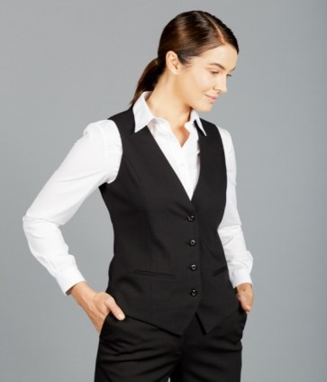 Gloweave Elliot Women's Washable Waistcoats - Black Model