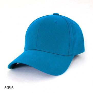 Heavy Brushed Cotton Cap - Aqua