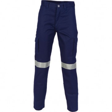 DNC Heavyweight Cotton Drill Cargo Pants 3M REF Hoop Pattern