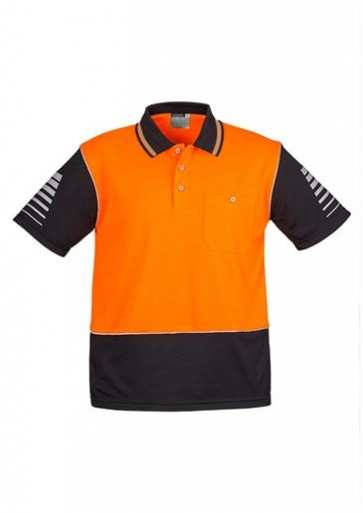 Hi Vis Syzmik Mens Zone Polo 175gsm