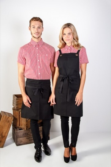 Identitee Brooklyn Canvas BIB Apron - Models