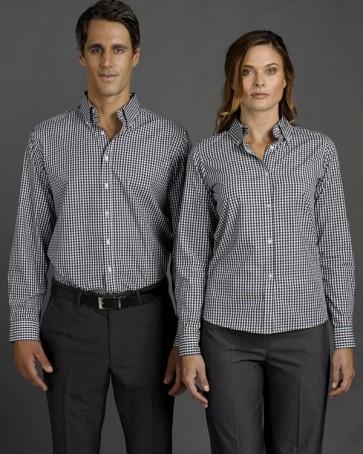 Identitee Mens Miller Long Sleeve Shirt - Models