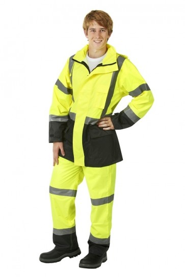 Blue Whale Hi Vis Day/Night Rain Pants 150D