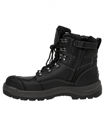 JB's Wear Side Zip Boot - Black