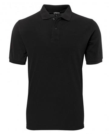 JBs wear C of C Pique Polo - Black