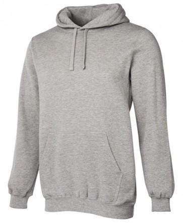 JBs wear Fleecy Hoodie - Grey Marle Front