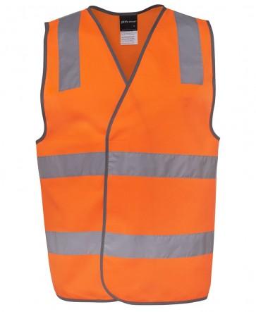 JB's Wear Hi Vis Day Night Safety Vest - Orange