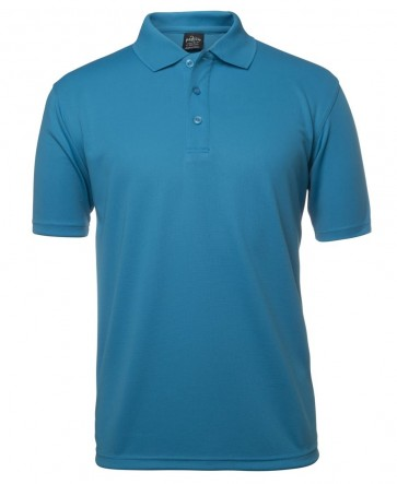 JBs wear Poly Polo - Aqua