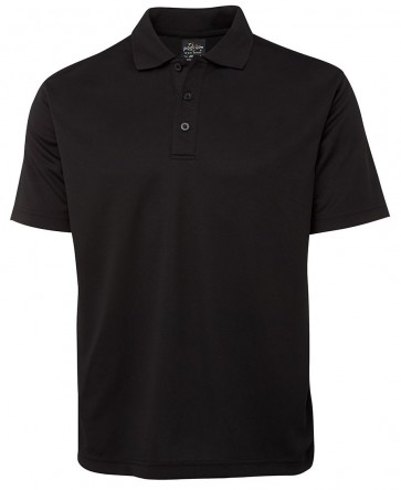 JBs wear Poly Polo - Black