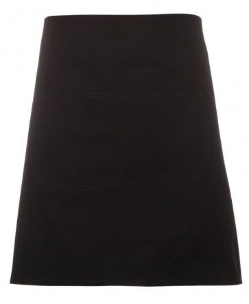 JBs wear Waist Canvas Apron - Black Front