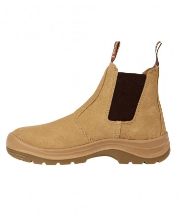 JB's wear Elastic Sided Safety Boot - Sand (Suede)