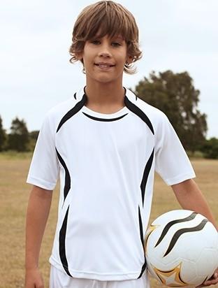 Bocini Kids Sports Jersey - WHIT EBLACK MODEL
