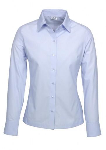 Ladies L/S Ambassador Shirt Blue S29520