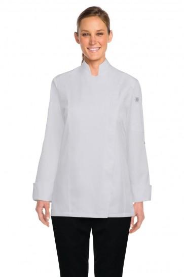 Chef Works Lansing Women's White Chef Jacket