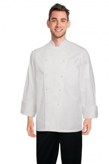 Chef Works Madrid White 100% Cotton Chef Jacket