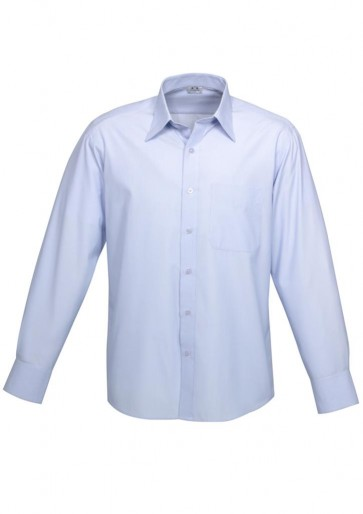 Mens L/S Ambassador Shirt Blue S29510
